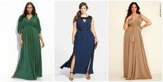 modelos vestido longo plus size madrinha dia
