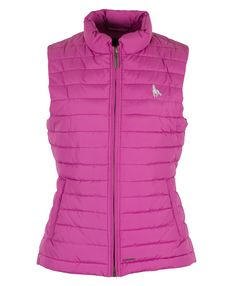 Cassie, Ladies quilted gilet in Clematis (see more colours at www.Toggi.com)