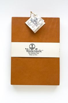 Leather Sketch Pad The Infinity Pad 5x7 by WalknTalk on Etsy, $35.00