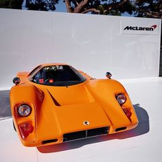 The very first of the McLaren road cars - the 1969 McLaren M6GT