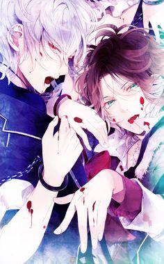Subaru & Raito | Diabolik Lovers #otomegame