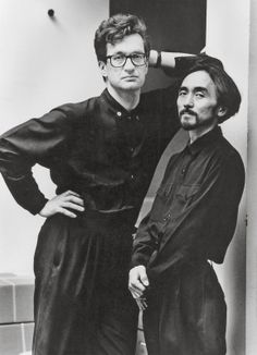 Wim Wenders and Yohji Yamamoto by Alice Springs
