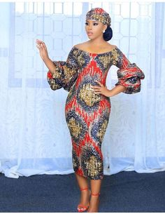 Ankara Short Gowns For Ladies is part of African design dresses - Most stylish collection of ankara short gown styles of 2019 trending today, try these short ankara gown styles African Fashion Ankara, Latest African Fashion Dresses, African Dresses For Women, African Print Fashion, Africa Fashion, African Attire, African Women, African Prints, African Fabric