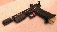 Custom glock race gun. 9mm g34.