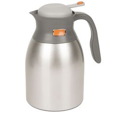 Stainless Steel Coffee Pot 1.5L Tea Hot Cold Beverages Liquids Kitchen Outdoor