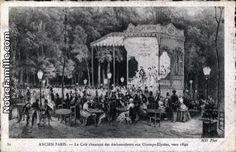 Cartes Postales Photos Le Café chantant des Ambassadeurs aux Champs-Élysées, vers 1840 Paris 75008 de paris (75)