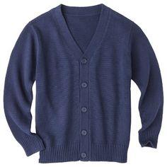 Cherokee® Boys' School Uniform Button Down Cardigan $16.99 School Uniform, Cherokee, November Pictures, Button Downs, Buttons, Boys, Sweaters, Fashion, Baby Boys