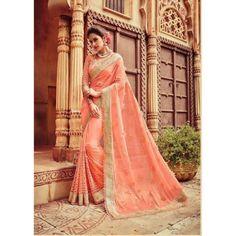 Lustrous Trendy Designer Saree ( D.No.610 )