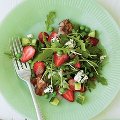 Spring Garden Strawberry Salad | MyRecipes.com