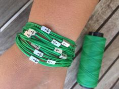💚 Go green 💚 Christian Bracelets, Christian Jewelry, Christian Gifts, Religious Gifts, Religious Jewelry, Bracelet Men, Bracelets For Men, Jewelry Gifts, Handmade Jewelry
