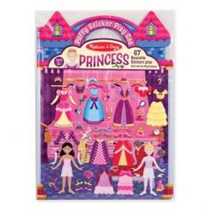 Use the reusable puffy stickers to dress the princesses and fill the play scenes over and over. 67 Reusable Stickers Two sided Fold-and-Go Play Scene Suitable for ages Arts And Crafts For Teens, Art And Craft Videos, Stickers, Fun Craft, Melissa & Doug, Arts And Crafts Movement, Book Activities, Travel Activities, Gifts For Girls