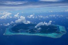 Les pieds dans le lagon polynésien - Carnets de voyage - île du ...