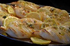 Calamars à la Plancha à l'Ail-Persil-Citron © Ana Luthi Tous droits réservés
