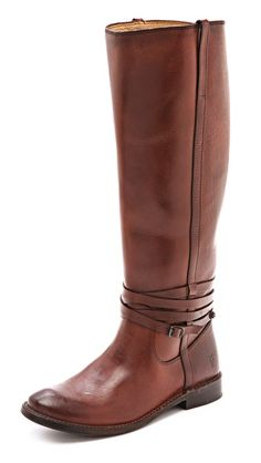 shirley tall riding boots / frye