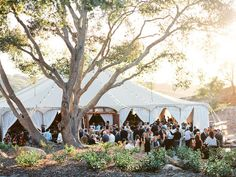 A sparkling neutral wedding in Southern California with a gorgeously chic bride in a lace dress and mismatched bridesmaids in sequin dresses! Outdoor Wedding Reception, Tent Wedding, Wedding Bells, Dream Wedding, Gypsy Wedding, Wedding Dresses, Destination Wedding Locations, My Perfect Wedding, Sunset Wedding
