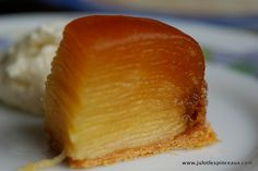 Tarte Tatin from La Patisserie des Reves by Julot Small Desserts, No Bake Desserts, Dessert Recipes, Chefs, French Pastries, Pastry Cake, Recipes From Heaven, Dessert For Dinner, Croissant