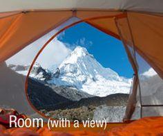 Habitación con vistas #acampada #camping