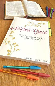 Do you want to grow your faith and engage in God's Word like never before? Make the goal to write the Word this year through Scripture Graces, a Word by Word journey through the Bible.
