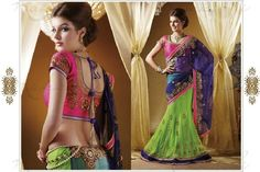 designer-half-saree-diwali-collection