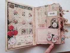 Art journal inspiration. Inside