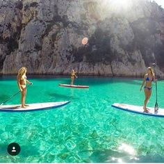 Paddle boarding and Stand Up Paddle Yoga is a lifestyle.... A way of life…