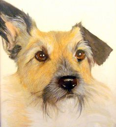 """Buster"" - fine art print from an original by Vicki Diane Designs"