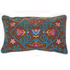 Discover the Pip Studio Amazing Flowers Cushion - Khaki at Amara