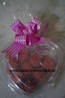 Chocolateria Doce Paladar: coração com 9 trufas