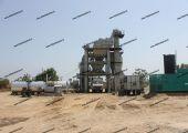 Asphalt batch mix plant of 120 tph capacity installed near Bhatinda, Punjab. #AsphaltPlant #AsphaltMixer #ConstructionEquipment #machinery
