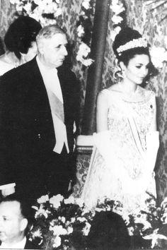 state visit France, Farah Pahlavi, Charles de Gaulle, 1961