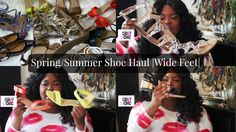 Spring/Summer Shoe Haul |Wide Feet|