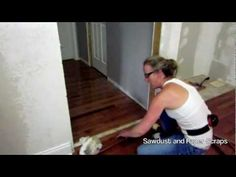 How to patch a wood floor