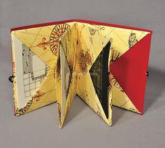 Origami Pocket book from Moote Points /Artenotas/cuadernos-artesanales/