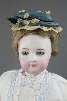 """17"""" Jumeau French Fashion Doll Bisque Socket Head AND Shoulder Plat LOT 1069   eBay"""