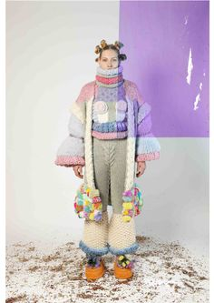 Knitwear Fashion, Knit Fashion, Slow Fashion, High Fashion, Word Girl, Textiles, Contemporary Fashion, Hand Knitting, Knit Crochet