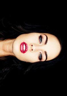 Megan Fox makes black hair look so exotic