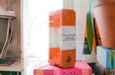 Painted Brick Book Clockwork Orange on by LightReadingLondon