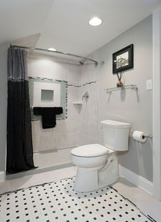 Gerner White Bathroom - transitional - bathroom - other metro - Excel Interior Concepts & Construction