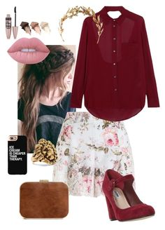 """""""Untitled #187"""" by maciestockman ❤ liked on Polyvore featuring Zimmermann, Haute Hippie, Dune, Yves Saint Laurent, Casetify, Lime Crime, Urban Decay and Maybelline"""