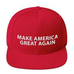 Gift Hot New 2016 Republican Red Cap Make America Great Again Donald Trump Hat