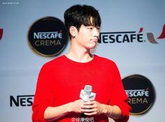 Seo Kang Joon - NESCAFE' CREMA 160819 Cr. Logo