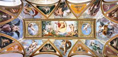 Palazzo Verospi - Allegory of the Time, with the Four Seasons and the Planets (Francesco Albani - 1617 (Palazzo Verospi Vitelleschi. Italy - Rome) fresco