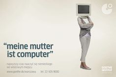 campaign for Goethe-Institut Warsaw  September 2012
