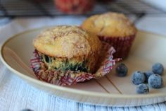 Blueberry Cupcake Muffins