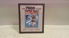 Atari 7800 Video Game Cartridge Crossbow