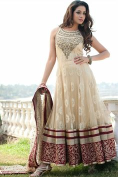 Floor Length Wedding Anarkali: Making a Sweeping Statement