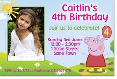 Peppa Pig Birthday Party For A Boy