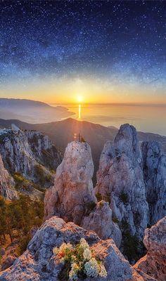 Mount Ai-Petri,Crimea,Russia