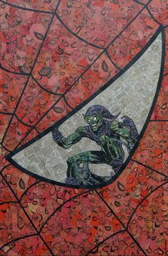Spider Eye / Green Goblin | 11 Rad Comics Collages You Must See