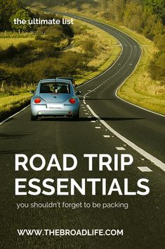 ultimate list of road trip essentials - the broad life's pinterest board